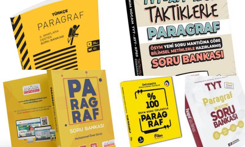 Türkçe Paragraf Soru Bankası Fiyatları