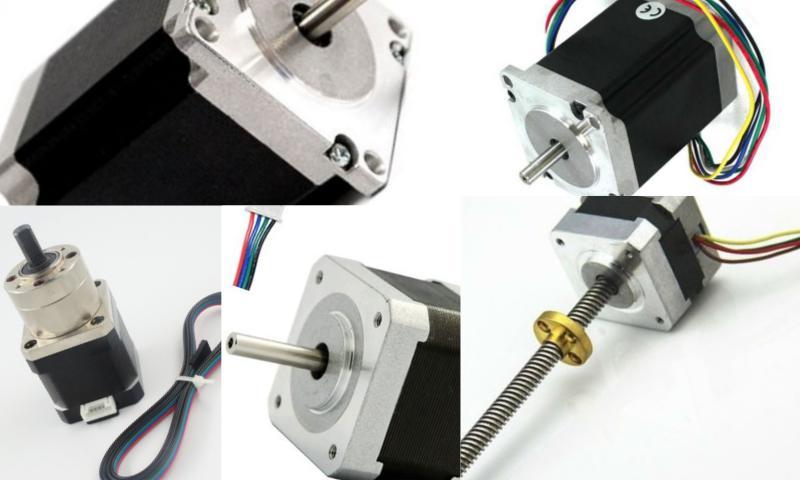 Lazer Makinelerinde Step Motorlar